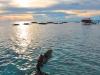 Sunset from Mabul Island