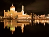Mosque by night, Bandar Seri Begawan, Brunei