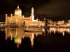 Mosque by night, Bandar Seri Begawan, Brunei