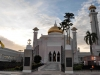 Front of the Sultan Omar Ali Saifuddien Mosque, Brunei