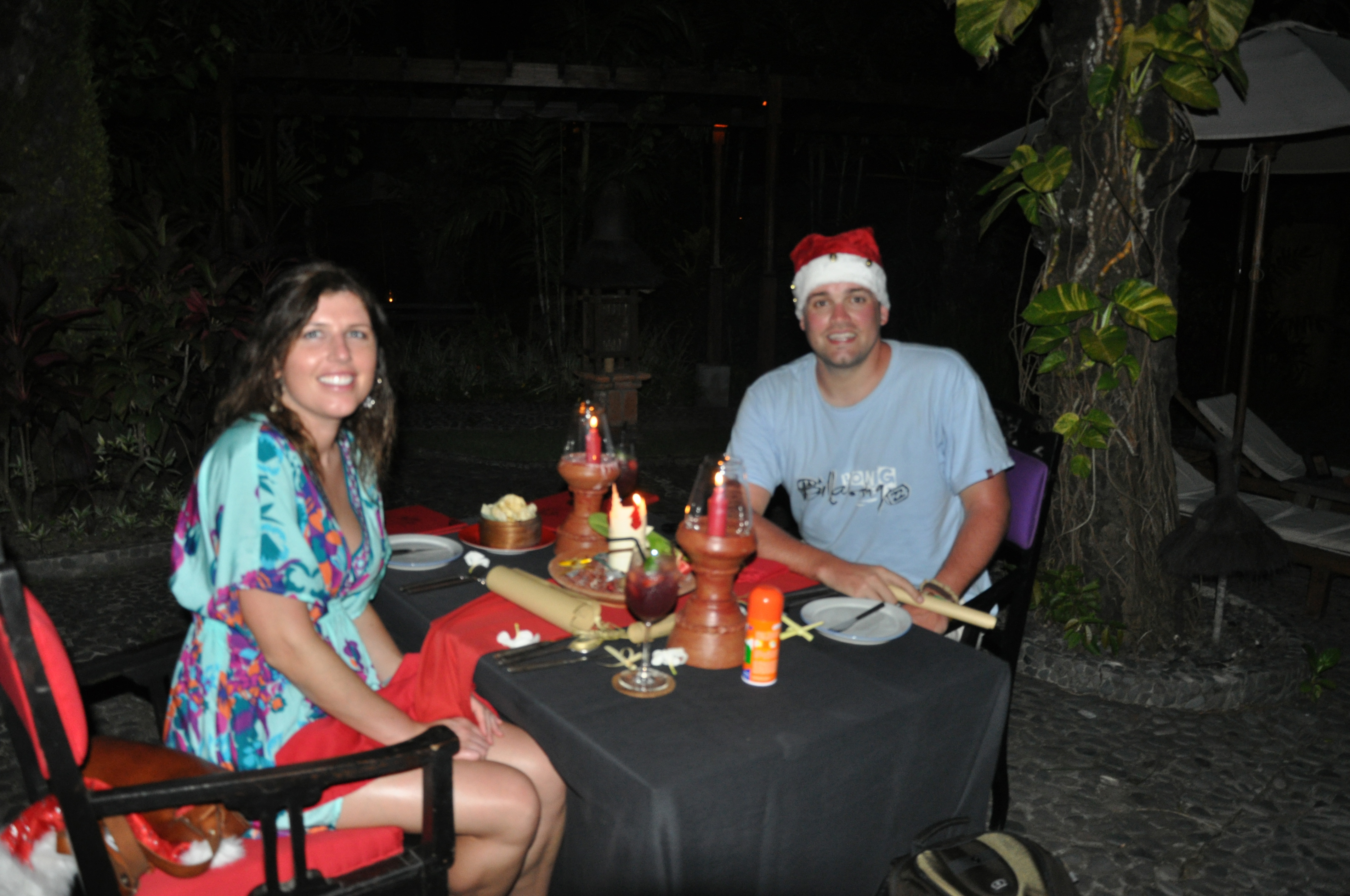 Christmas dinner @ Hotel Tugu